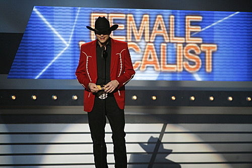 Ashton Kutcher at the ACMs