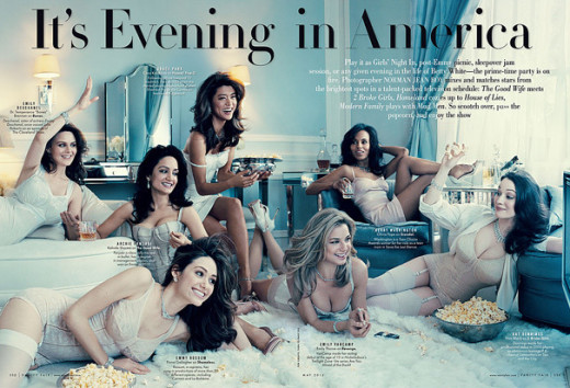 TV Stars in Vanity Fair