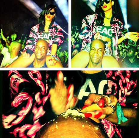 Rihanna at Coachella