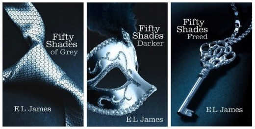 Fifty Shades of Grey Trilogy Covers