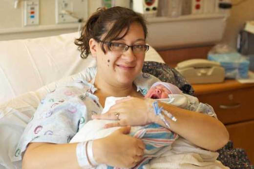 Katie Medley, Baby