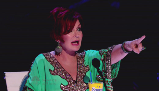 Sharon Osbourne on America's Got Talent