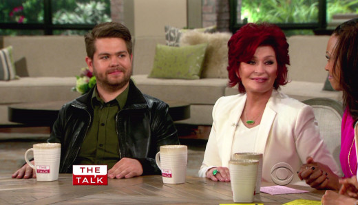 Jack Osbourne and Sharon Osbourne