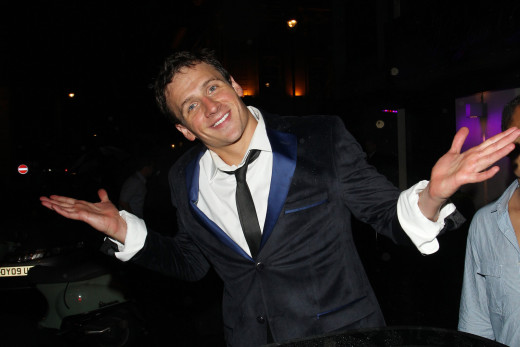Ryan Lochte Smiles