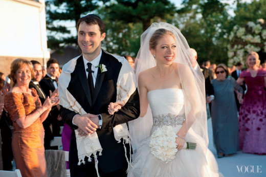 Chelsea Clinton Wedding Photo