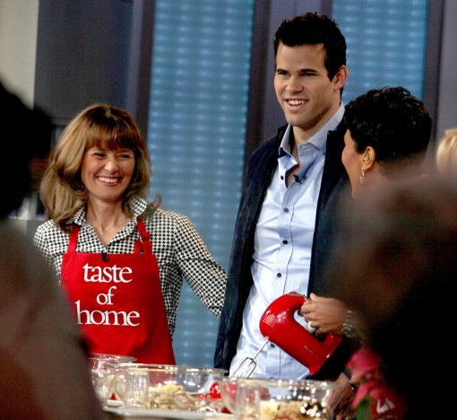 Debra Humphries and Kris Humphries