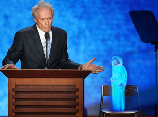 Clint Eastwood, Princess Leia