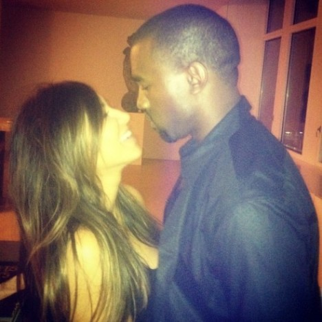 Kim Kardashian and BF