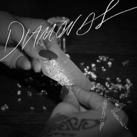 Rihanna Diamonds Album Cover