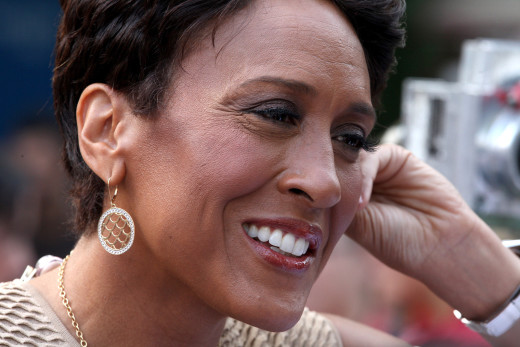 Robin Roberts Close Up