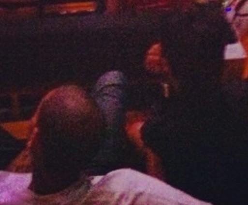 Chris Brown and Rihanna at Jay-Z Concert