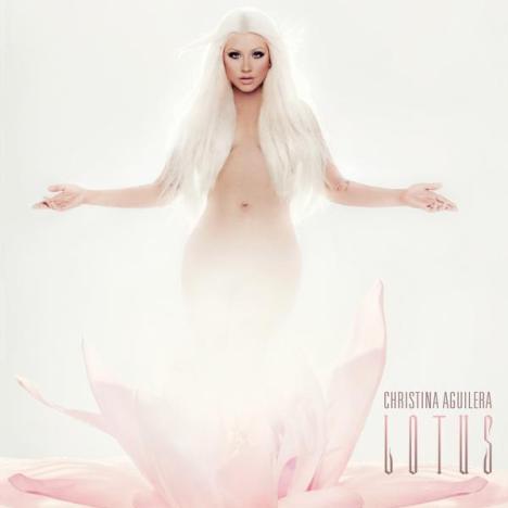 Christina Aguilera Lotus Cover