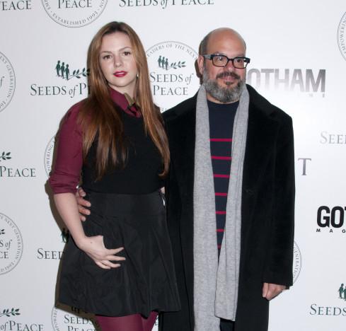 Amber Tamblyn and David Cross