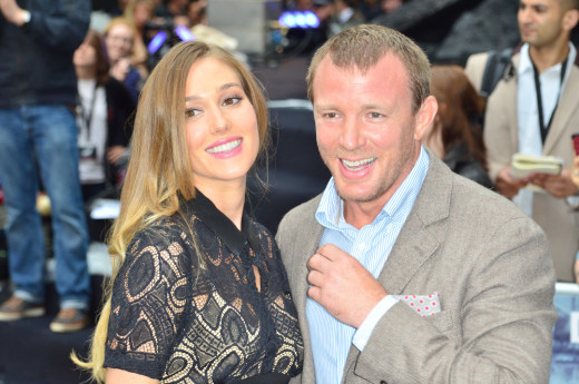 Guy Ritchie and Jacqui Ainsley Photo