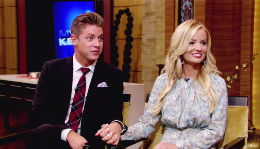 Emily Maynard and Jef Holm Interview Pic