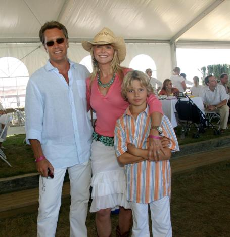 Christie Brinkley And Family