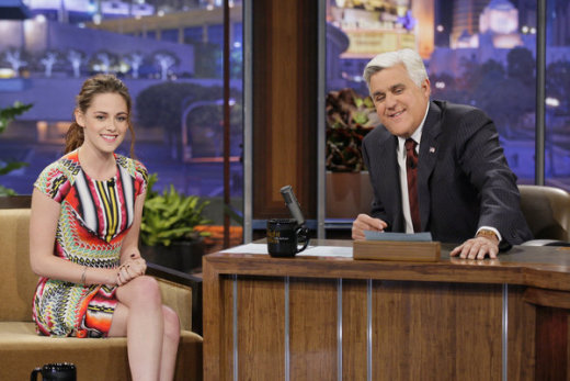 Kristen Stewart Tonight Show Appearance