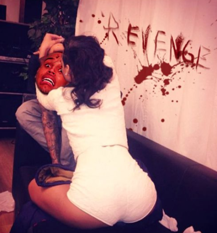 Rihanna-Chris Brown Pic Spoof