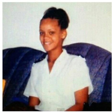 Rihanna at 15