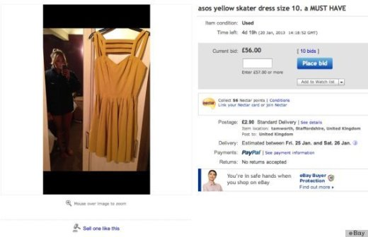 Not Quite as Naked eBay Seller