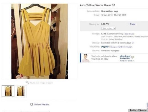 Naked eBay Seller