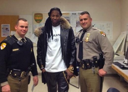2 Chainz, Police Photo