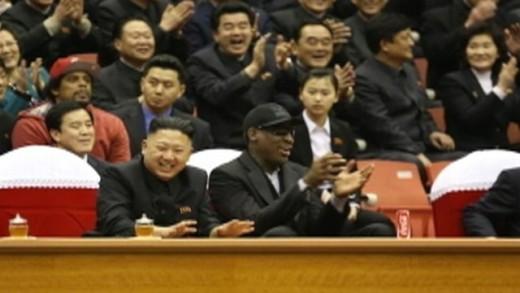 Kim Jong Un, Dennis Rodman