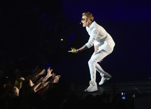 Justin Bieber in the UK