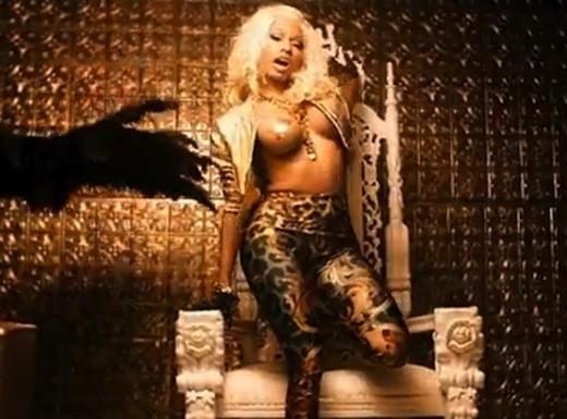 Nicki Minaj Topless Pic
