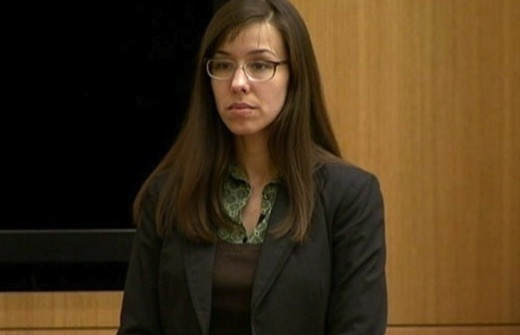Jodi Arias Court Photo