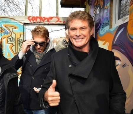 David Hasselhoff in Germany