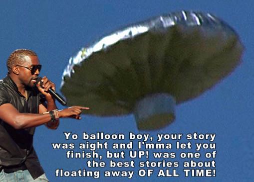 Kanye vs. Balloon Boy