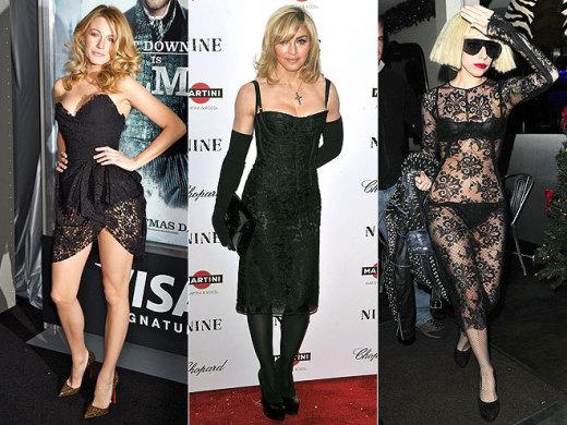 Blake, Madonna, Gaga