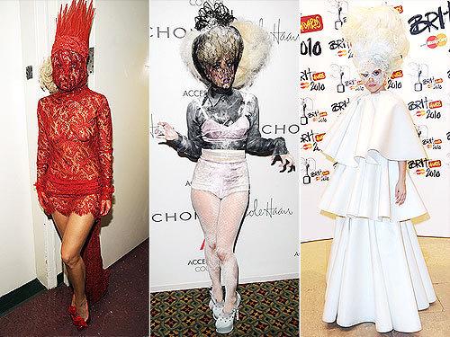 Gaga masks