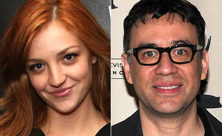 Abby Elliott and Fred Armisen
