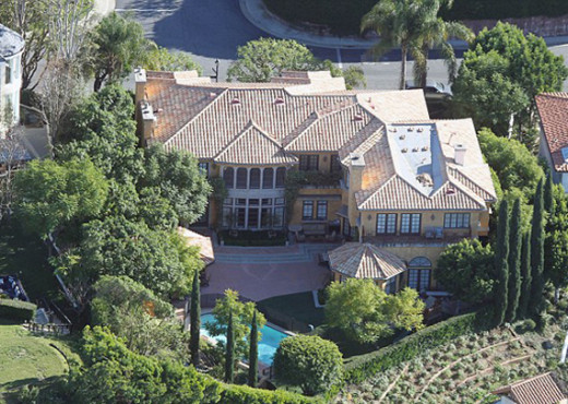 Charlie Sheen Mansion