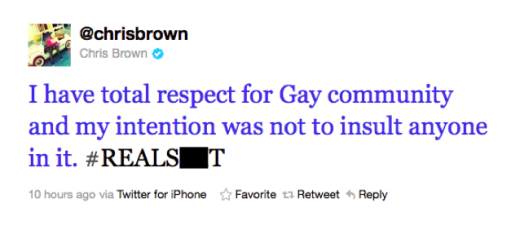 BROWN TWEET APOLOGY