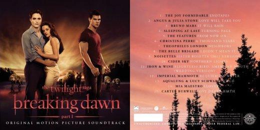 Breaking Dawn Soundtrack