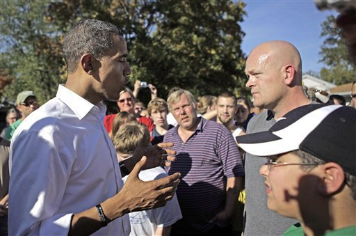 Joe the Plumber and Barack Obama