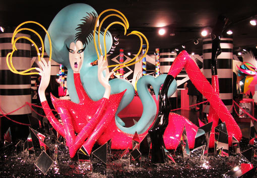 Gaga at Barneys