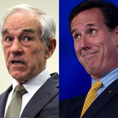 Paul and Santorum