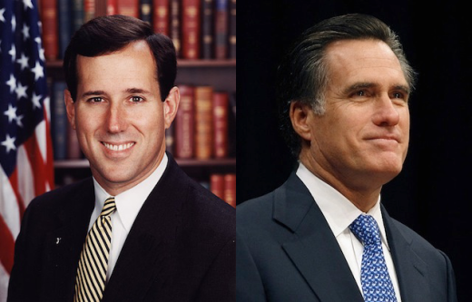 Romney, Santorum