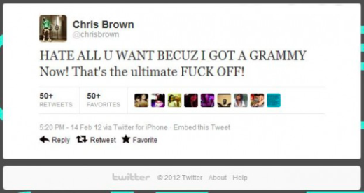 C Brown Tweet