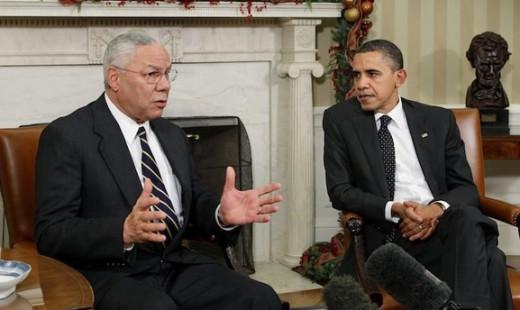 Powell, Obama