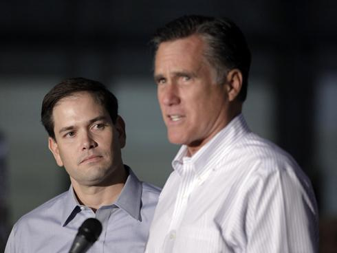 Romney and Rubio