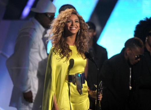 Beyonce Pic at BET