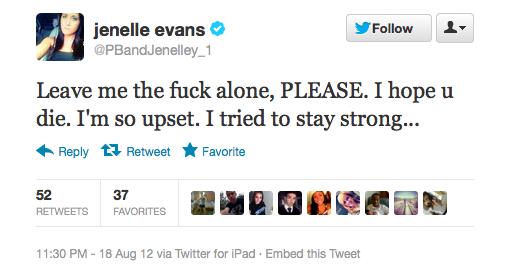 Jenelle Twitter