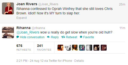 Rih vs. Joan