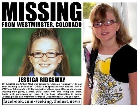 Jessica Ridgeway Missing