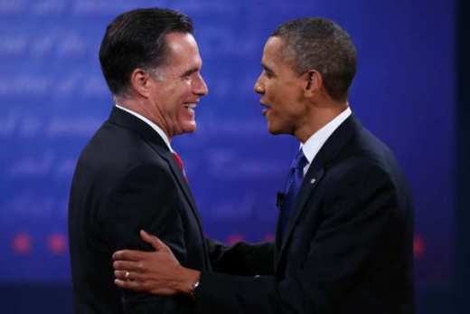 Romney and Obama Image